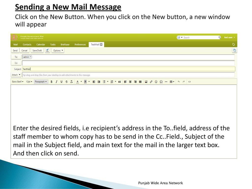 Zimbra Web Mail