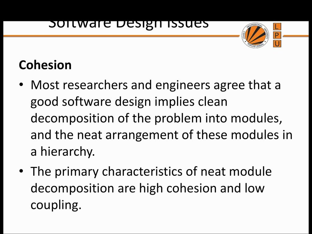 Basic Concepts In Software Design Ppt Download