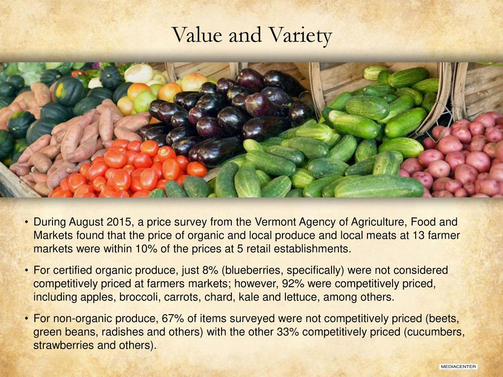 For Those Who Want Fresh Farm to Table - ppt download