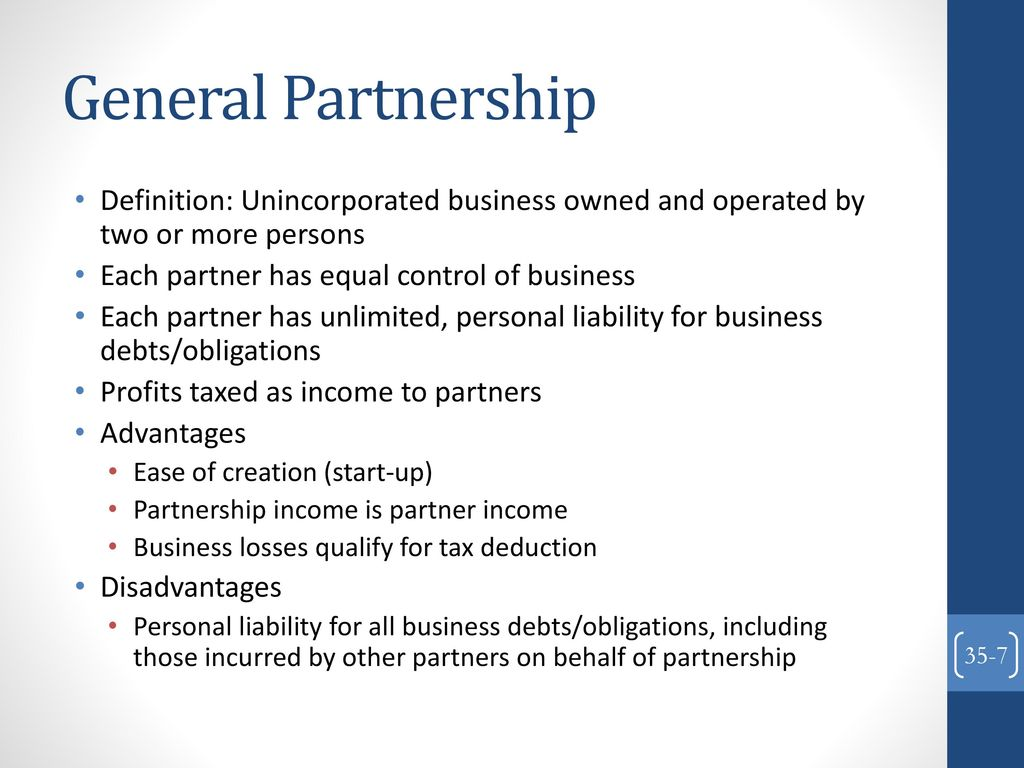 forms of business organization - ppt download