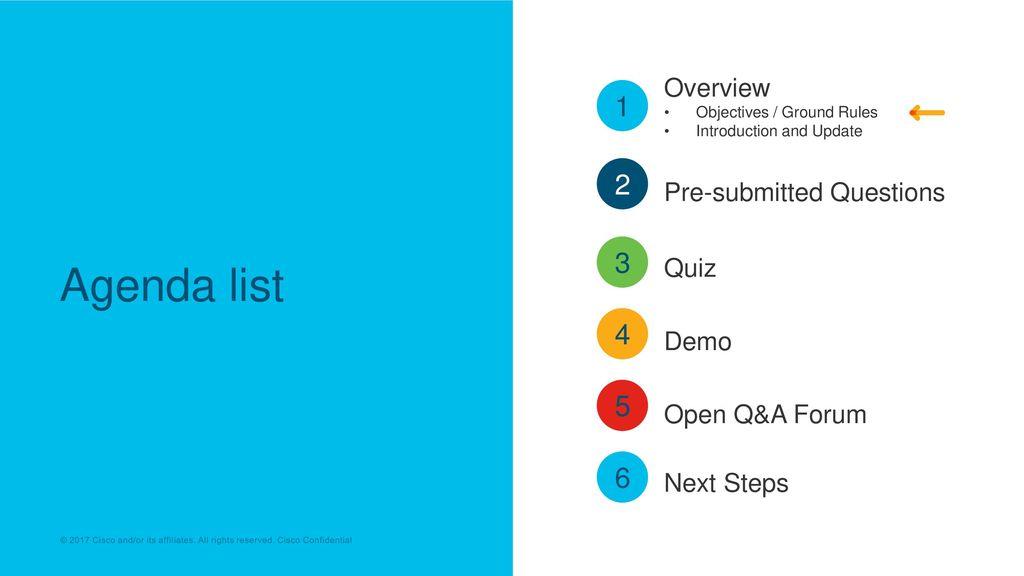 Cisco SaaS Partner Q&A Seminar - ppt download