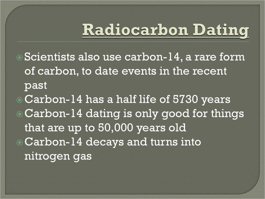 Radiocarbon dating scientist