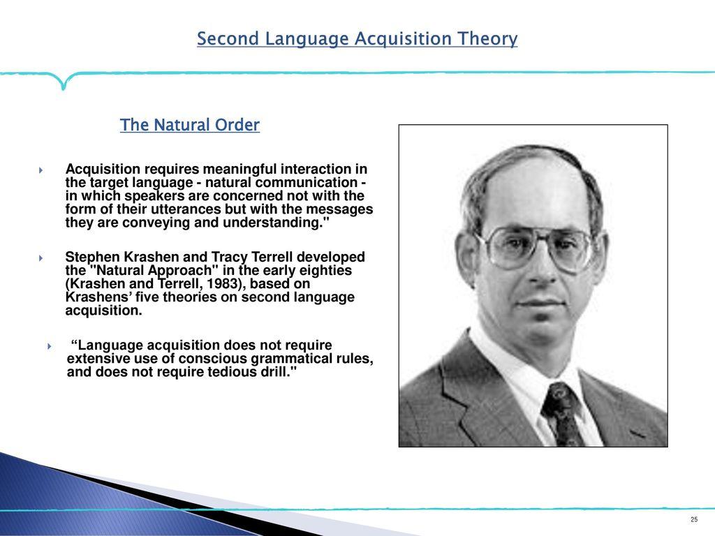 stephen krashen second language acquisition