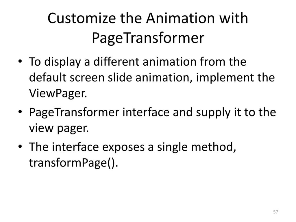 Android 21: Gesture Example - ppt download