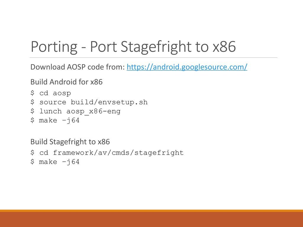 A Whole New Efficient Fuzzing Strategy for Stagefright - ppt