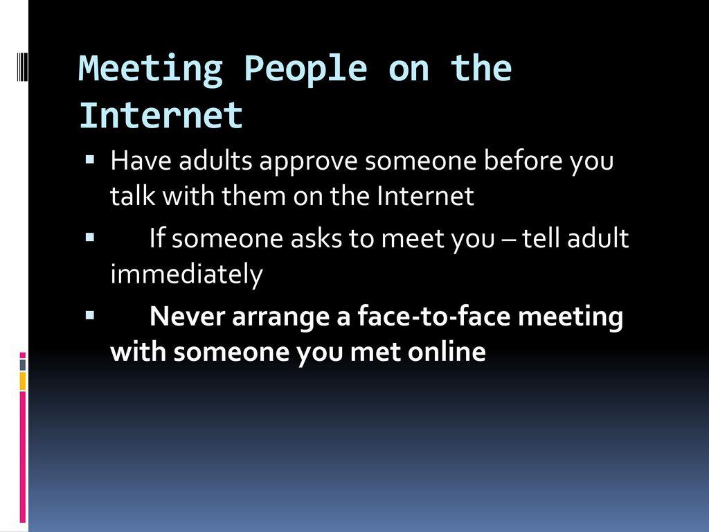 Internet Safety Stranger Danger  - ppt download