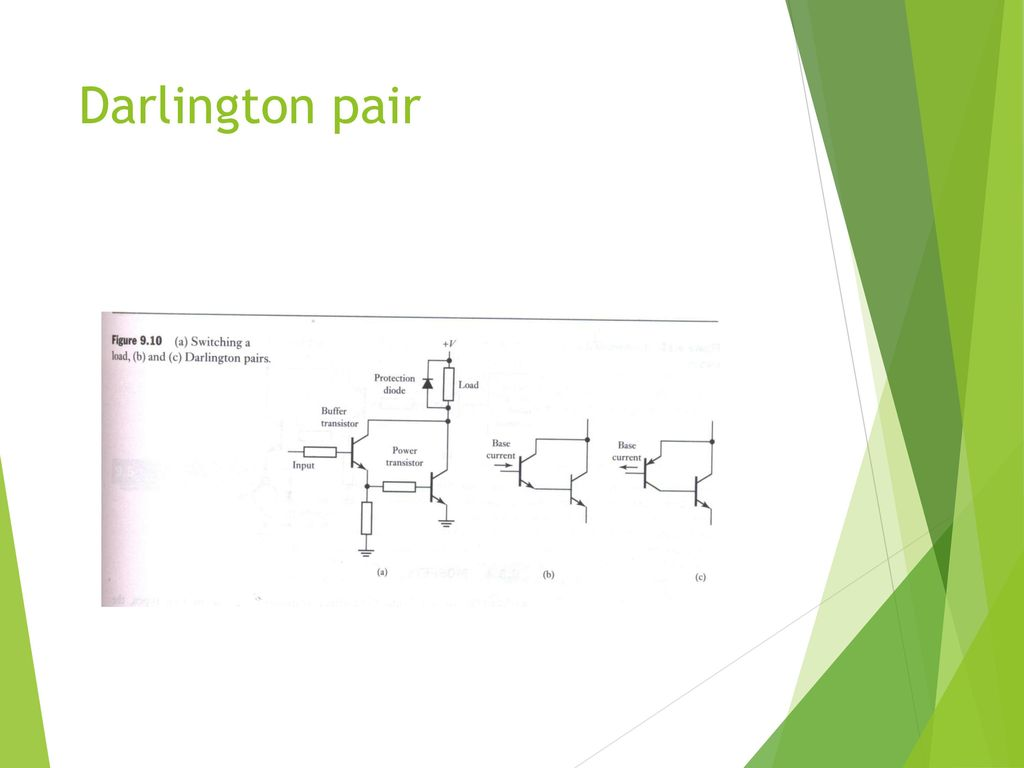 Electrical Actuation Systems Ppt Download Basic Electricity And Electronics Darlington Transistor Pairs 17 Pair