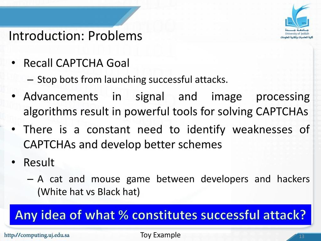 Identifying Vulnerabilities in Text based CAPTCHAs - ppt download