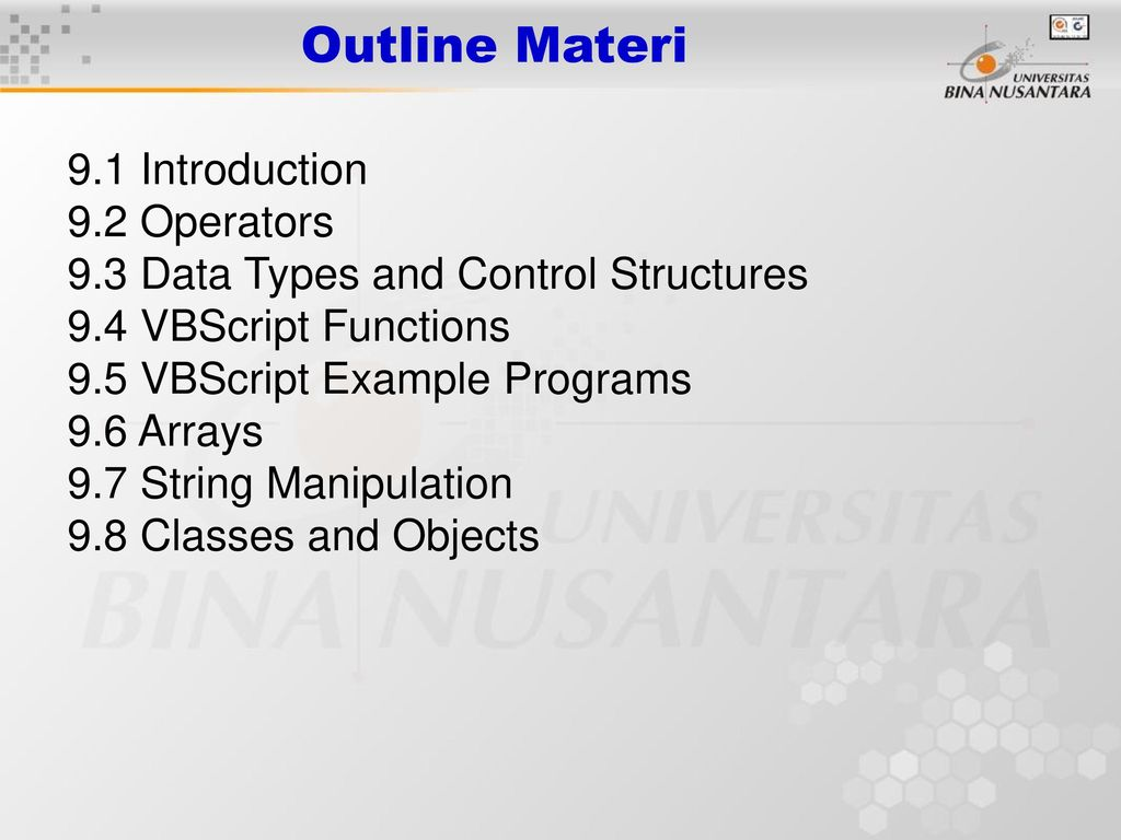 Client-Side Scripting with VBScript - ppt download
