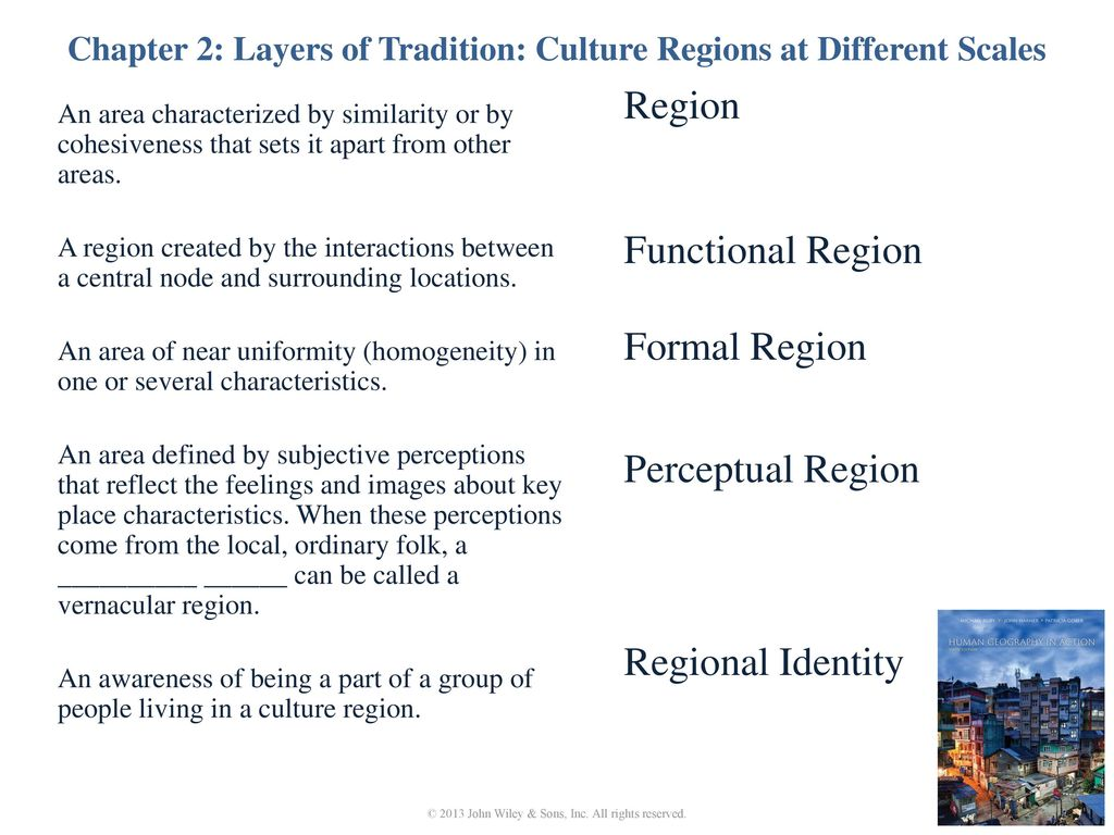 Chapter 2: Layers of Tradition: Culture Regions at Different