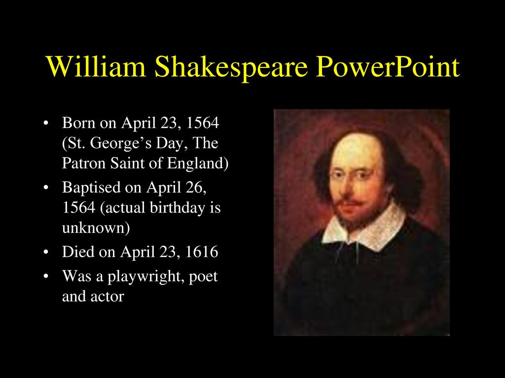 William shakespeare powerpoint template free download.