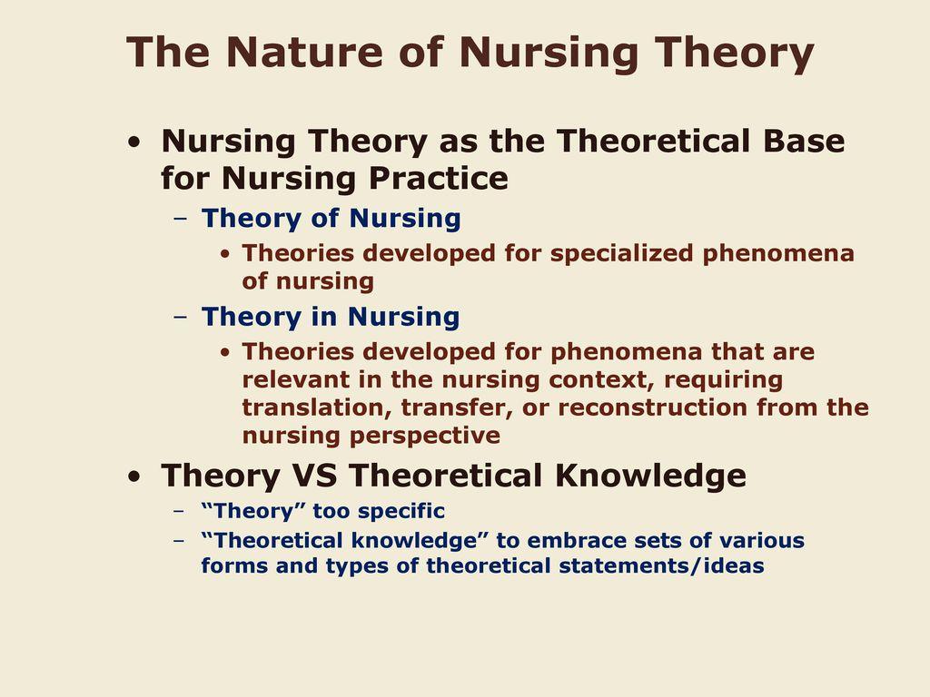 Methods of theoretical knowledge