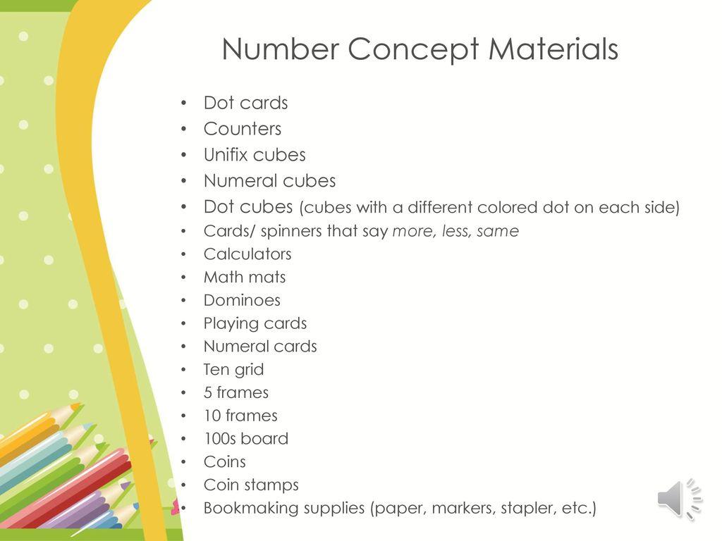 "K-2 Math Work Stations Week 3 ""Number Concepts"" - ppt download"