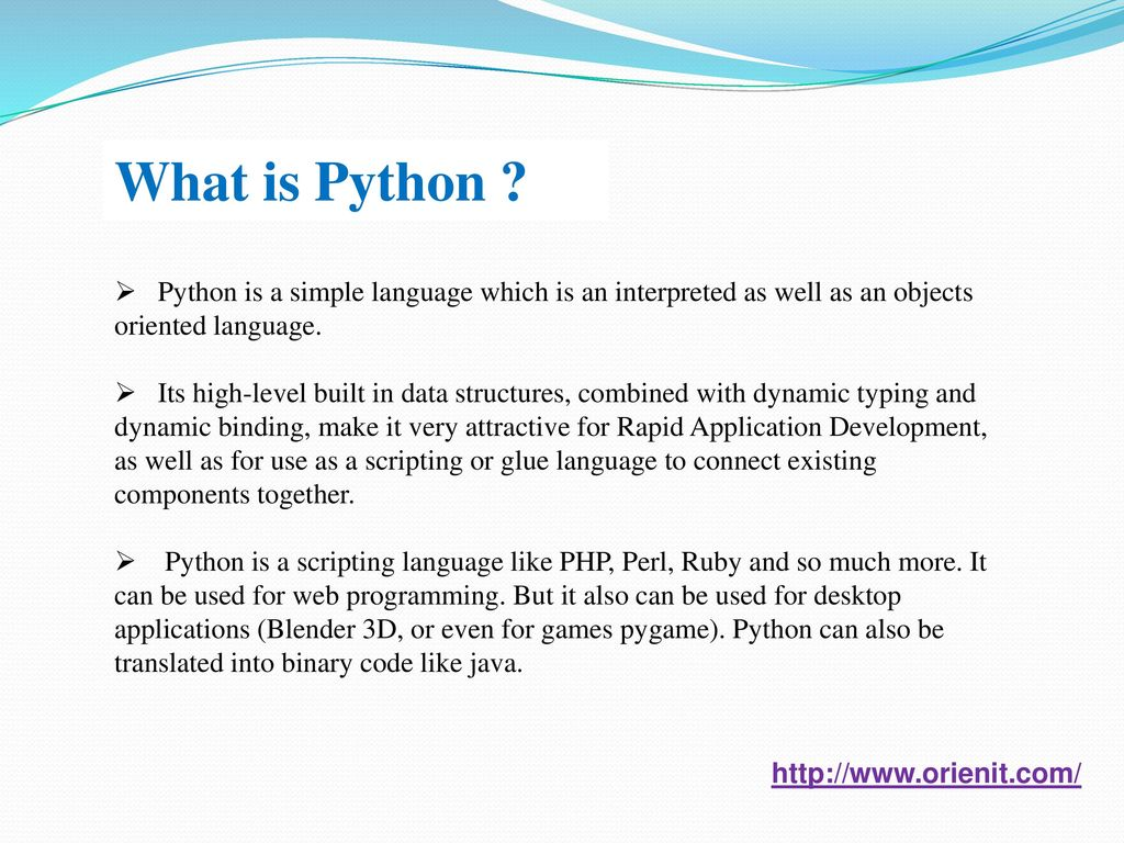 Python Training In Hyderabad - ppt download