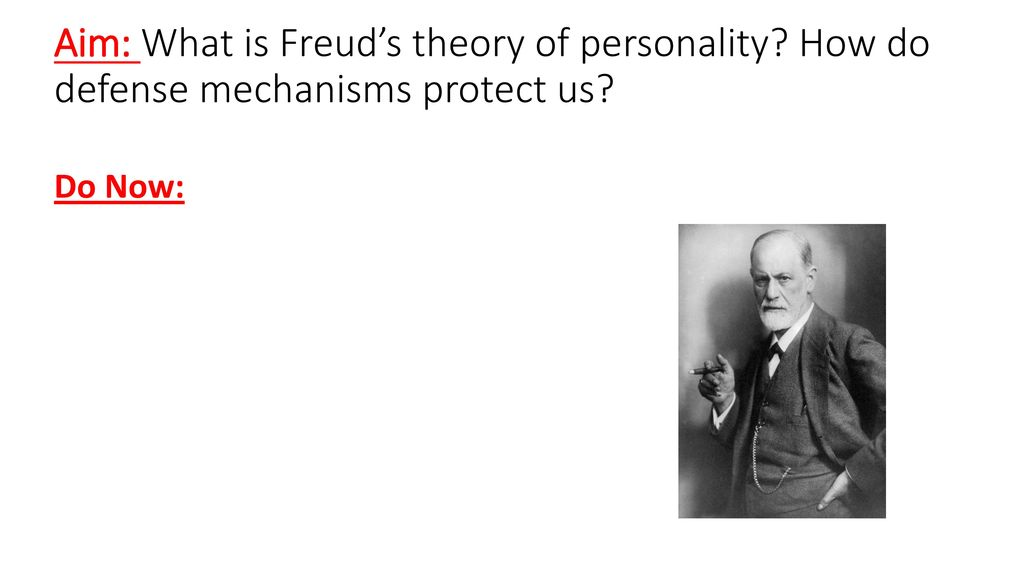 Aim What Is Freud S Theory Of Personality Ppt Download