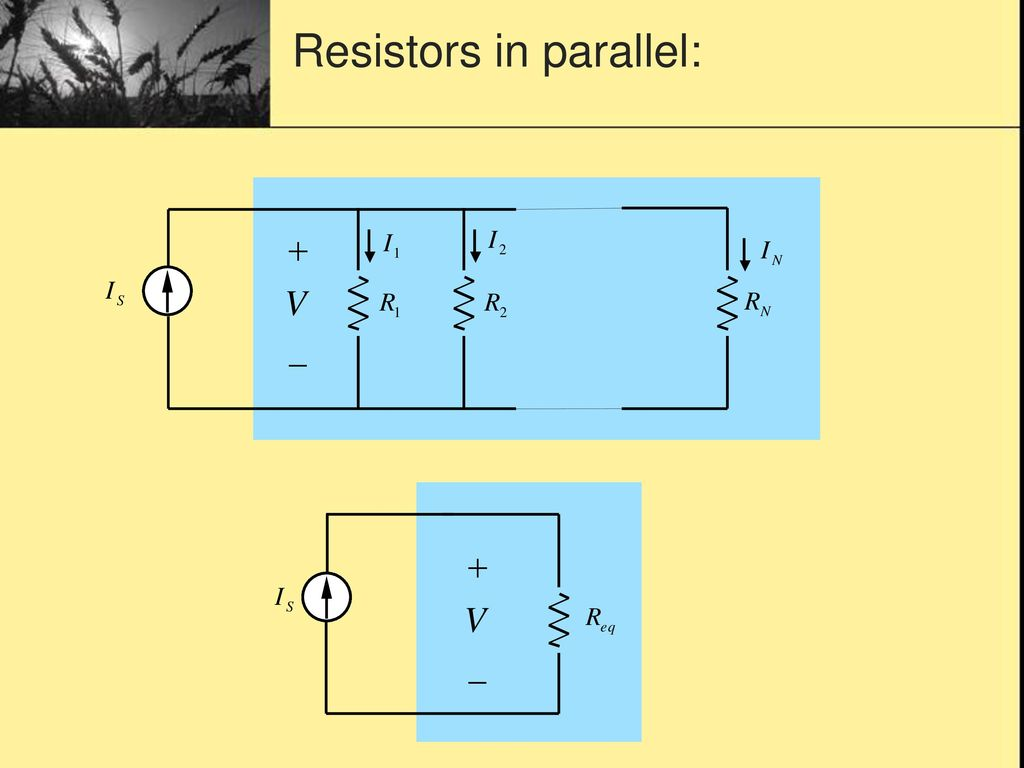 Resistive Circuit Topic Ppt Download Square Equivalent Resistance Of Resistor 5 Resistors In Parallel