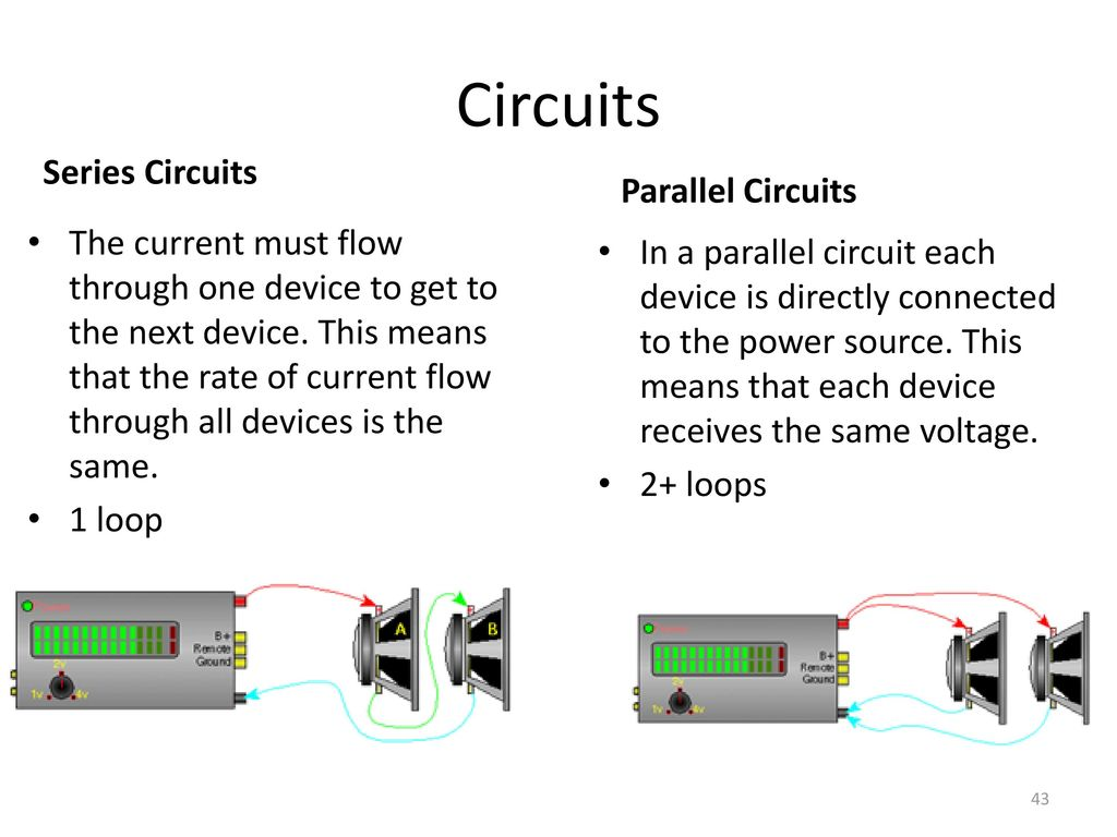 Eoct Review Physics Ppt Download Current Voltage In Series Parallel Circuits