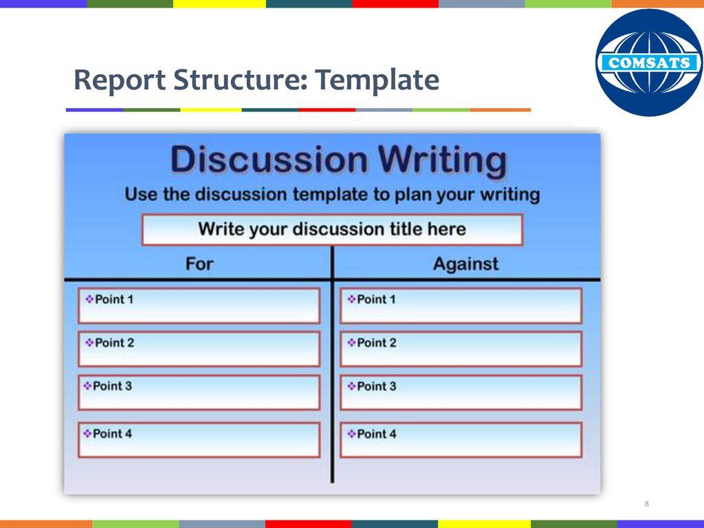 hum 102 report writing skills ppt download