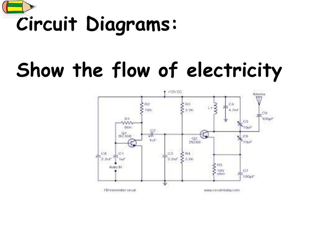 Quick Question Complete The Review Worksheet At Your Table When Grade 9 Circuit Diagram Diagrams Show Flow Of Electricity