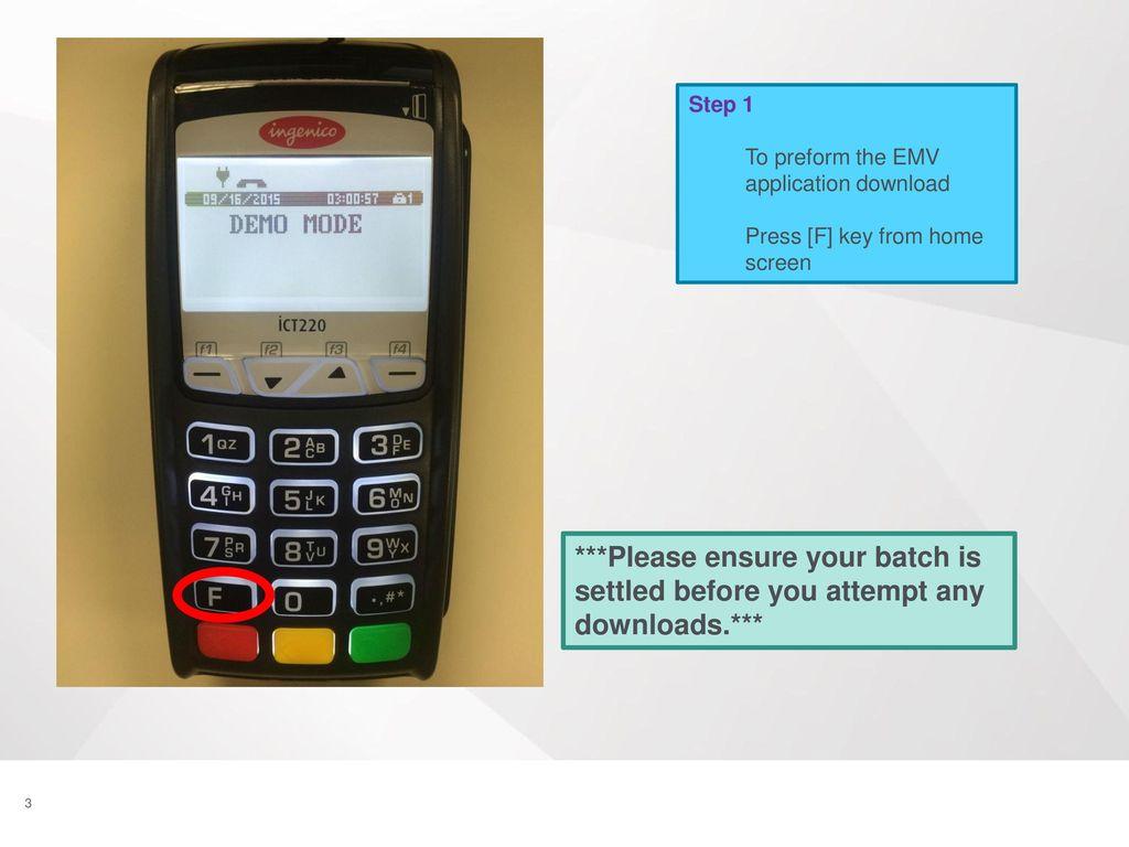 Ingenico ICT220 Download Instructions - IP - ppt download