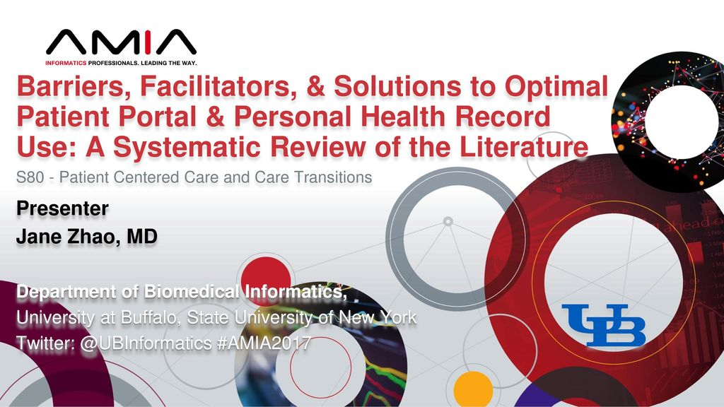 Barriers, Facilitators, & Solutions to Optimal Patient