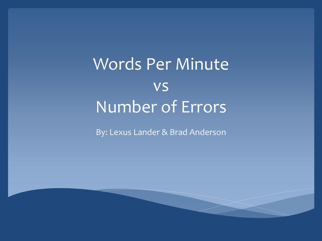 how many words per minute speech