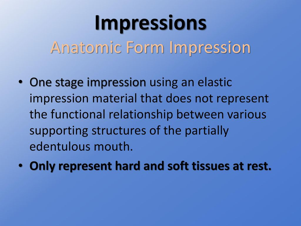 Support for the Distal Extension Denture Base - ppt download