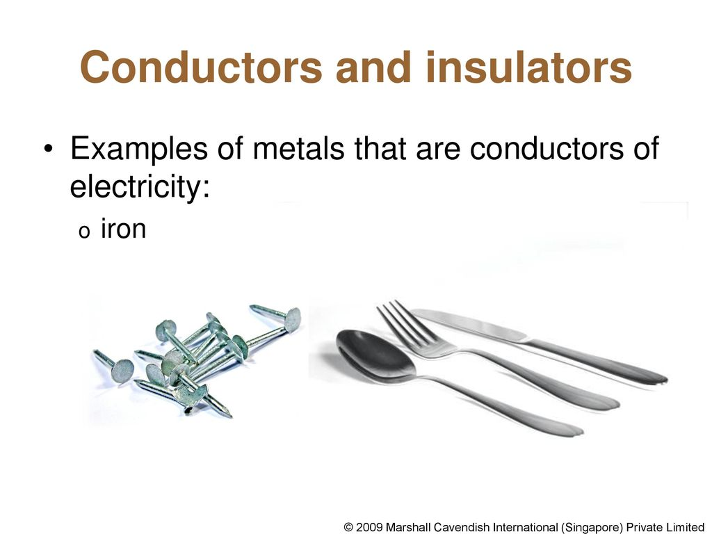 Conductors Of Electricity Ppt Download