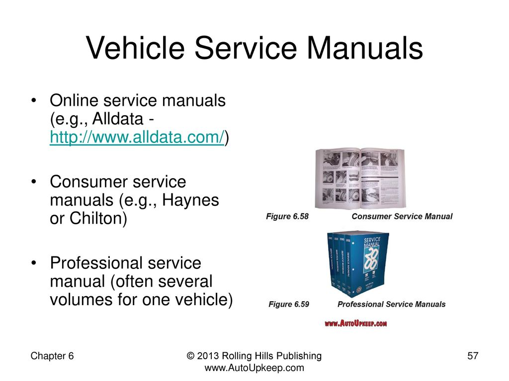 chilton professional service manuals