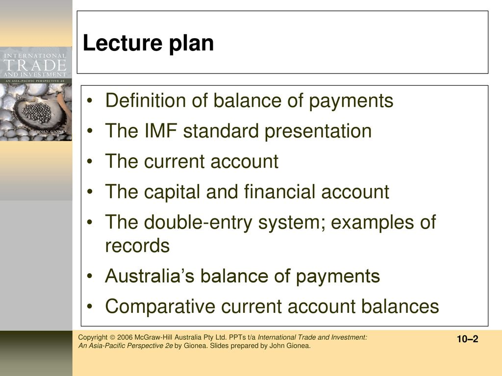 chapter 10 the balance of payments - ppt download