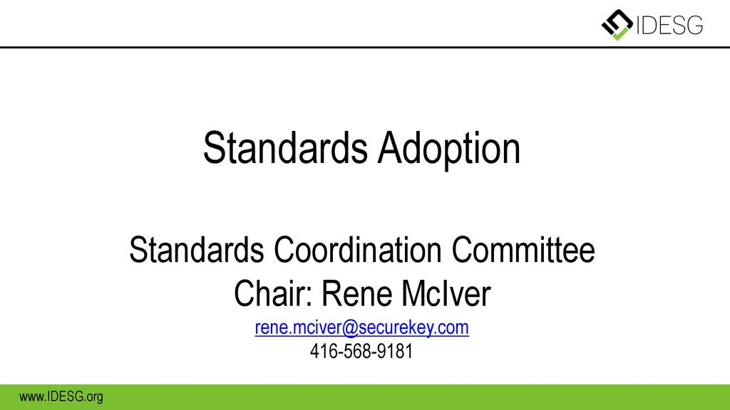 Standards Coordination Committee