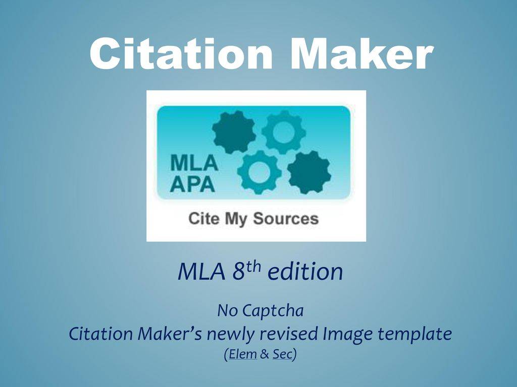 citation makers newly revised image template