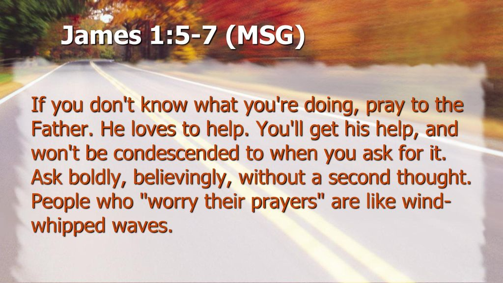A 13-part series on the power of prayer) Session Five (of 13