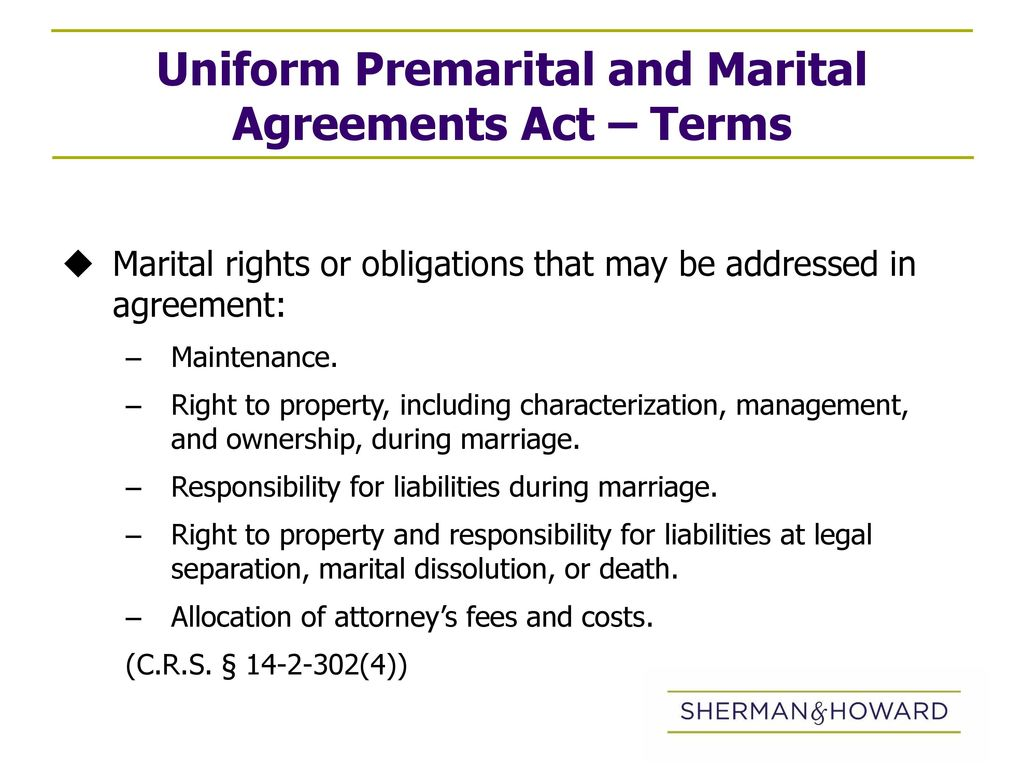 Premarital Agreements As A Tool To Protect Family Wealth By Ppt