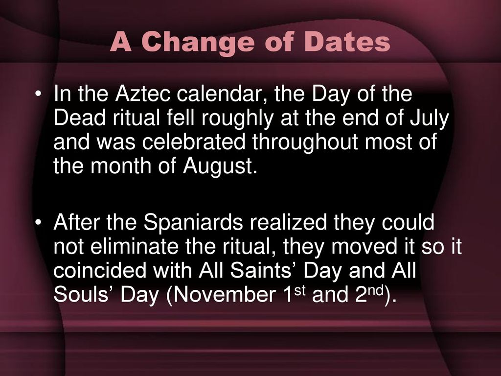 What are the special days of commemoration of the dead?