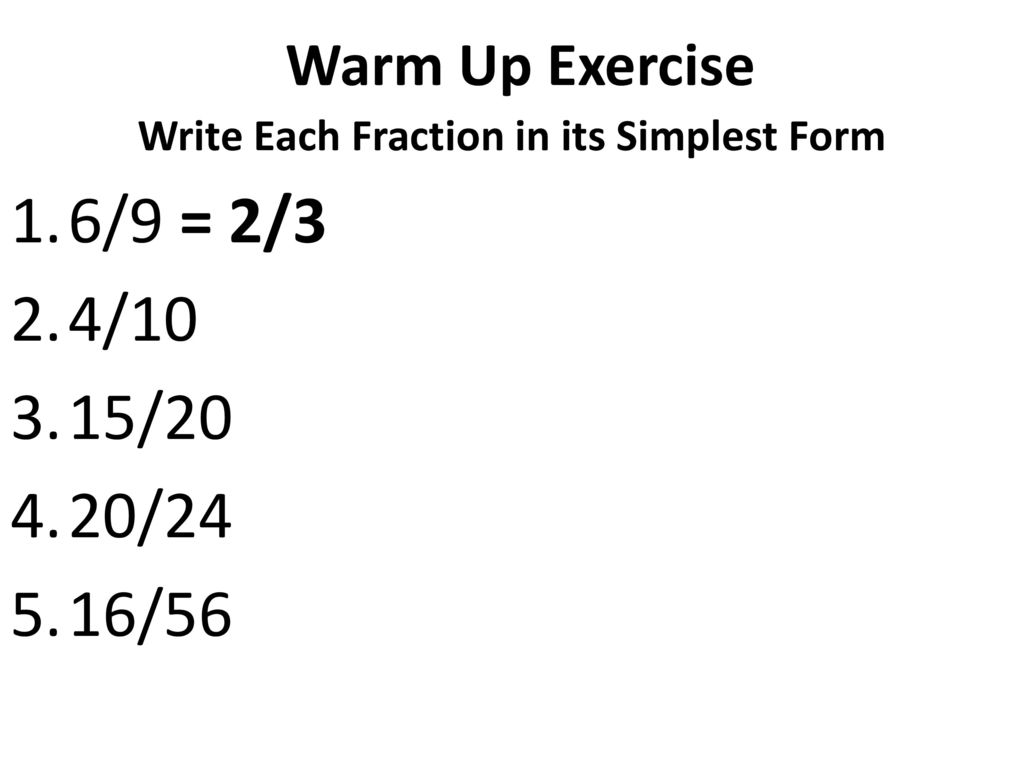 simplest form 6/16  Ratios. - ppt download