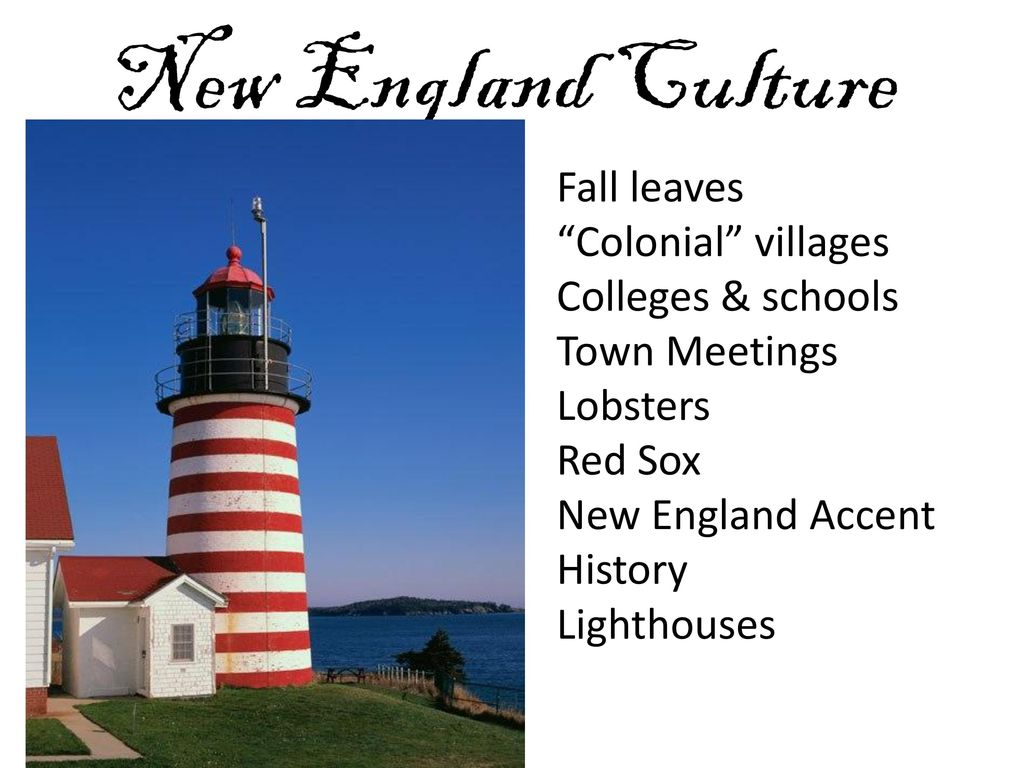 Culture of New England