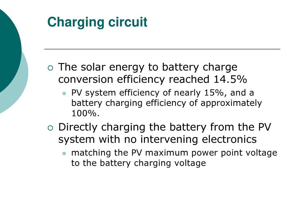 Hung Chi Chu 11 Fang Lin Chao 21 And Wei Tsung Siao31 Ppt Solar Charging Circuit 8 The