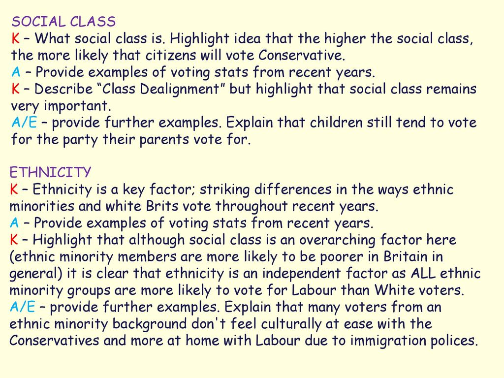 is social class still important