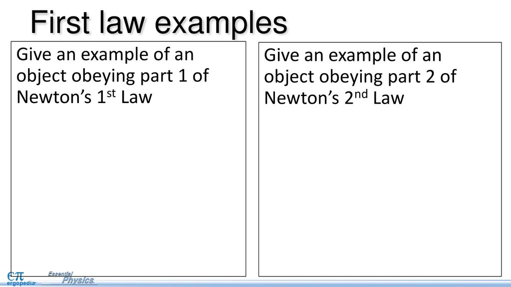 newton s first law pg 19 in nb ppt download