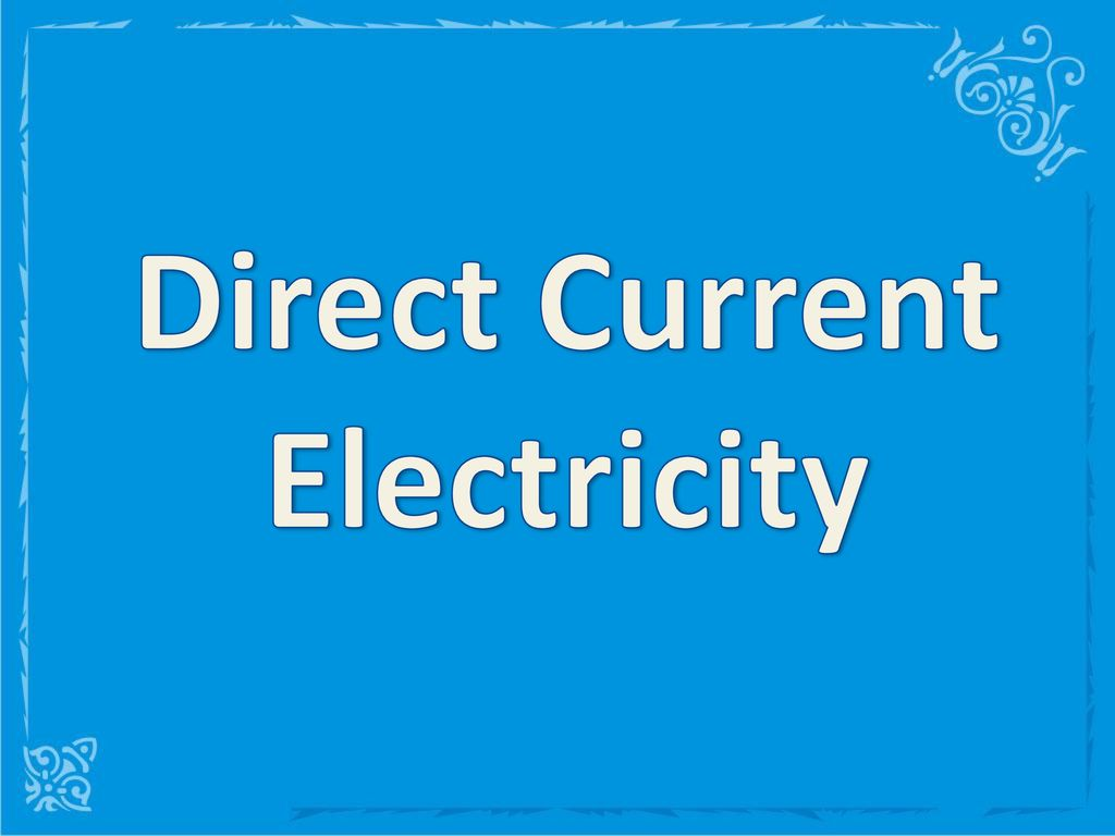 Direct Current Electricity Ppt Download The Actual Rheostat I Used Is Wired As In This Picture 1