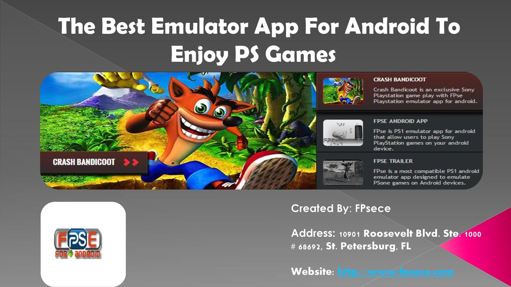 The Best Emulator App For Android To Enjoy PS Games - ppt download