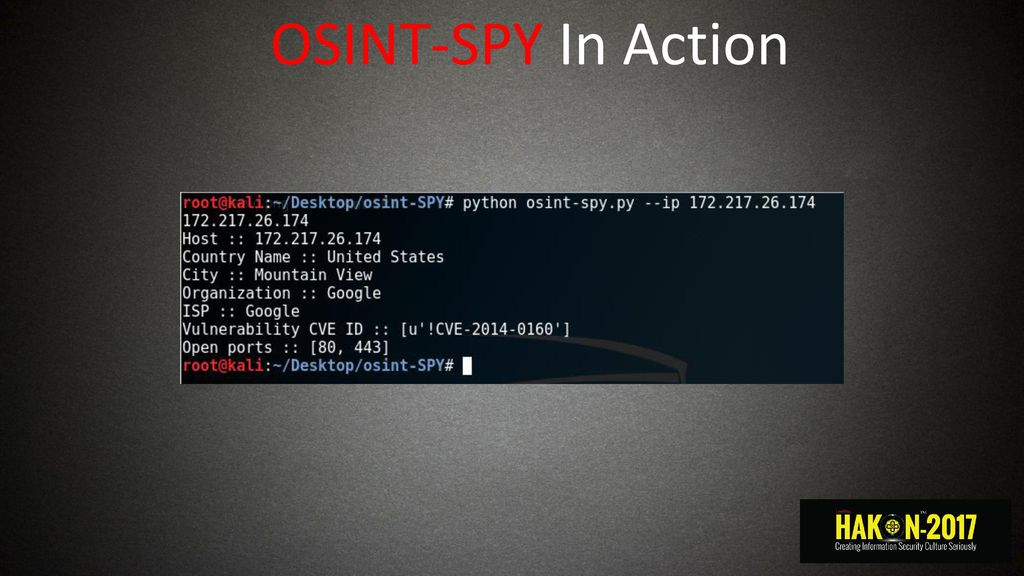 OSINT Sharad - ppt download
