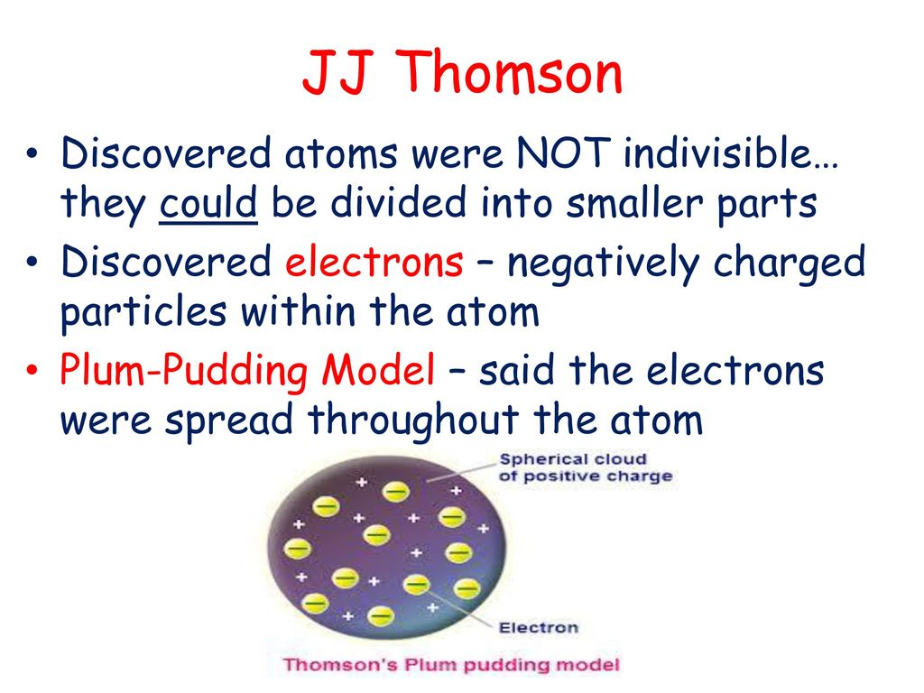 HISTORY OF THE ATOM AND ATOMIC THEORY   ppt download