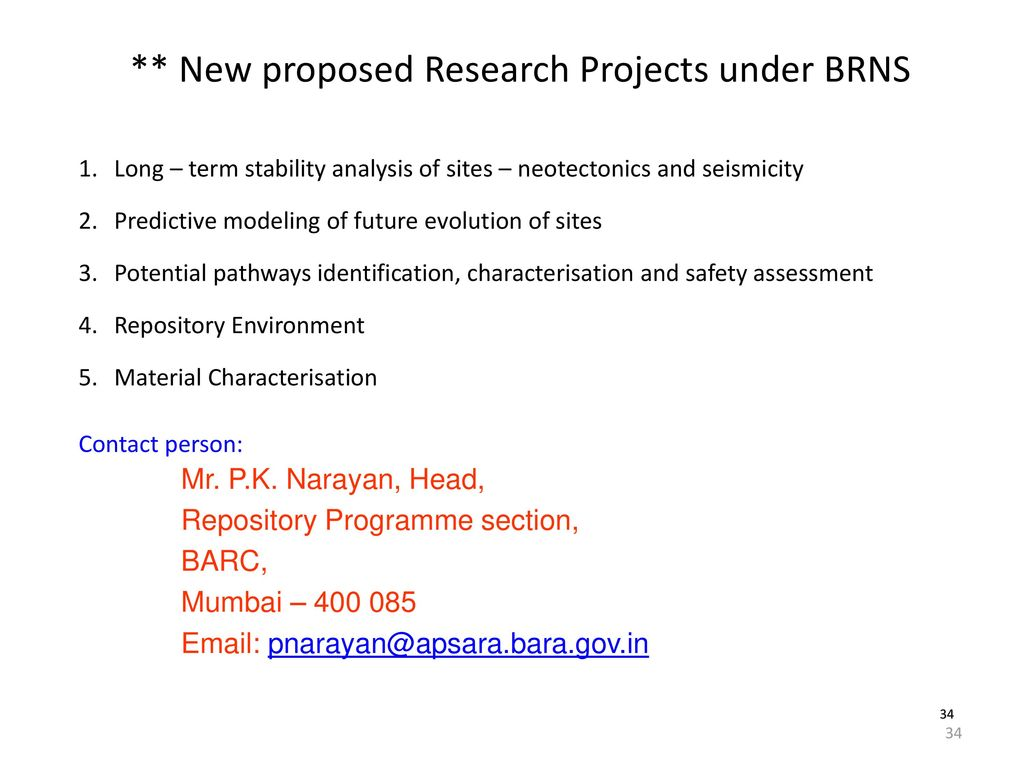brns research proposal