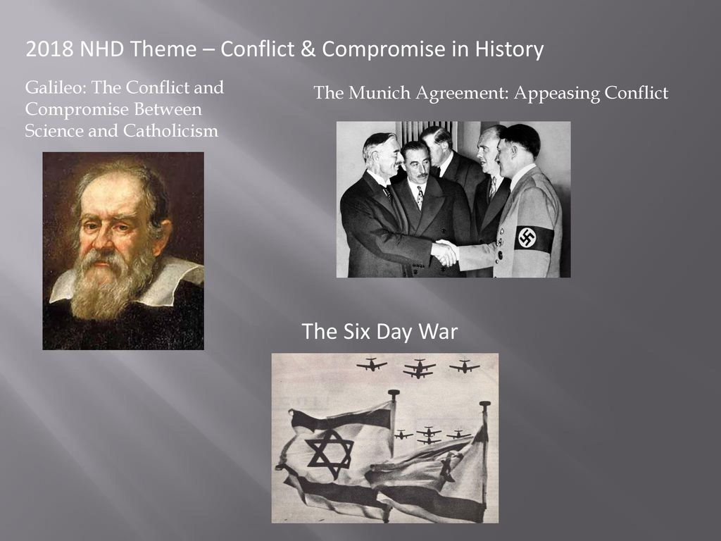2018 Nhd Theme Conflict Compromise In History