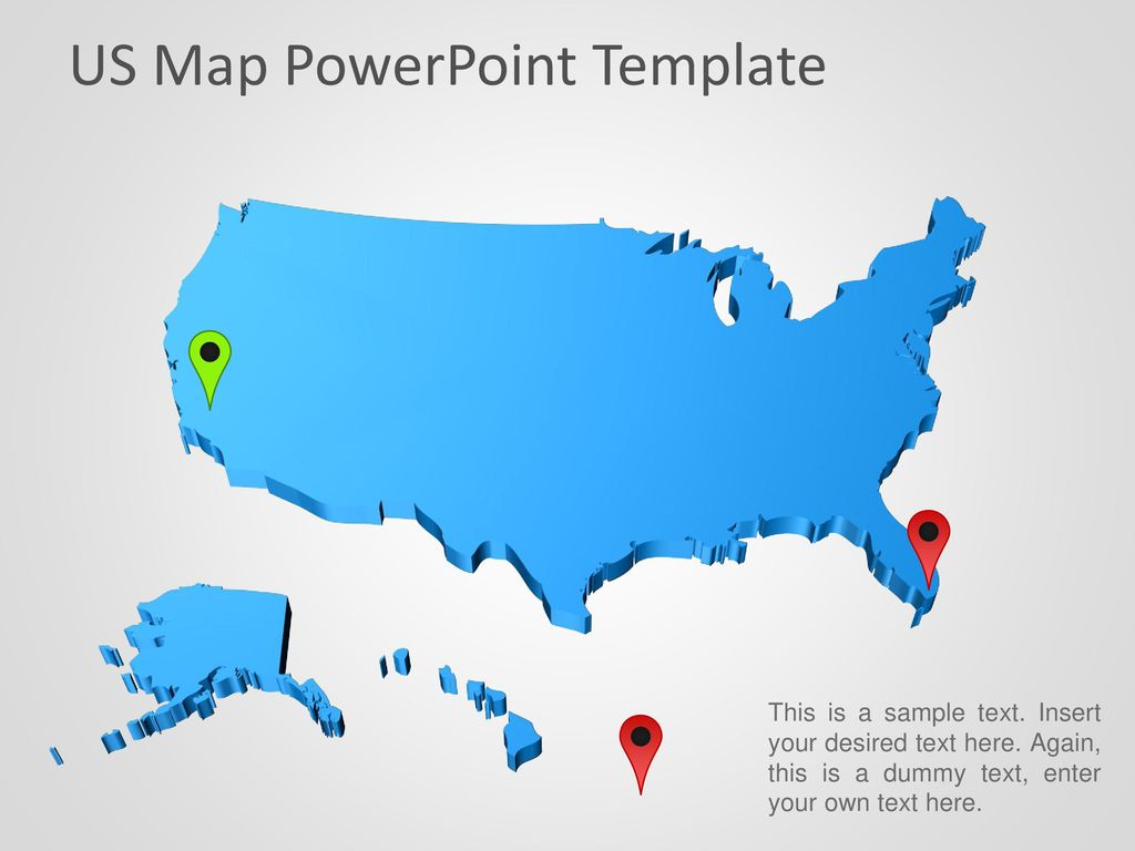 Us Map Powerpoint Template Ppt Download - Us-map-powerpoint-template