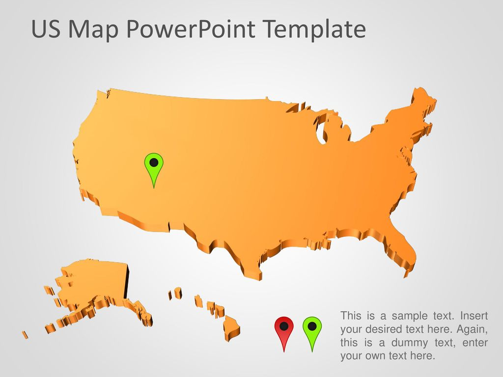US Map PowerPoint Template - ppt download