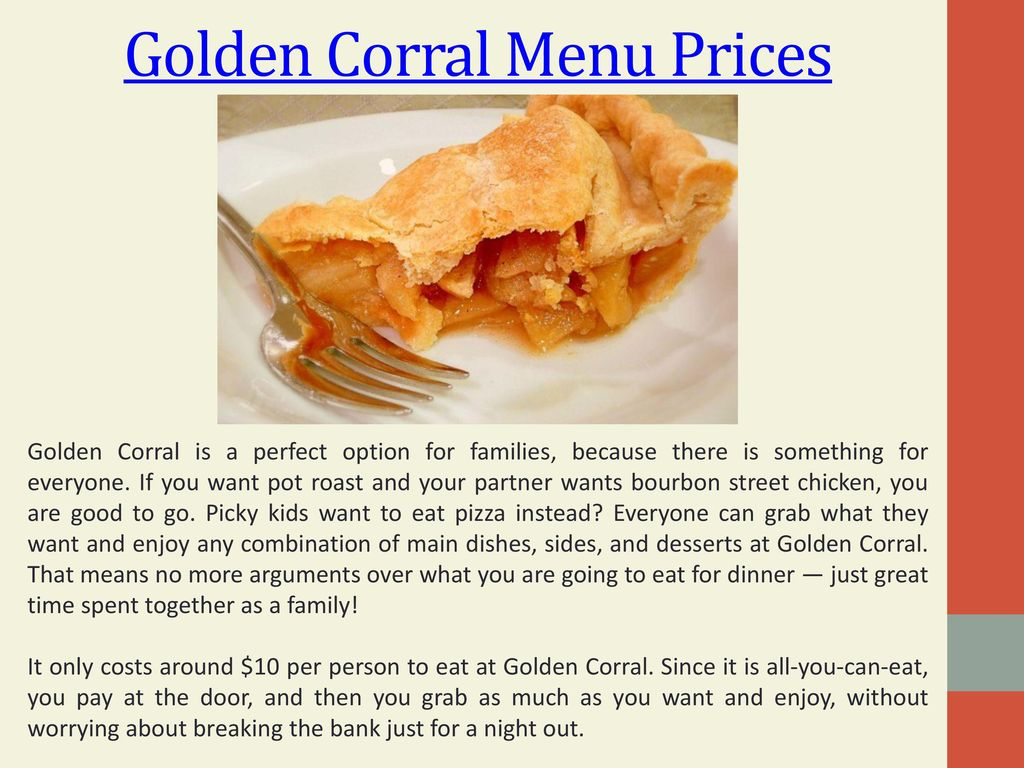 Golden Corral Prices Ppt Download