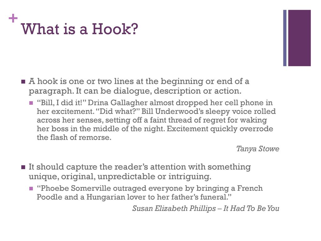 What is a hook